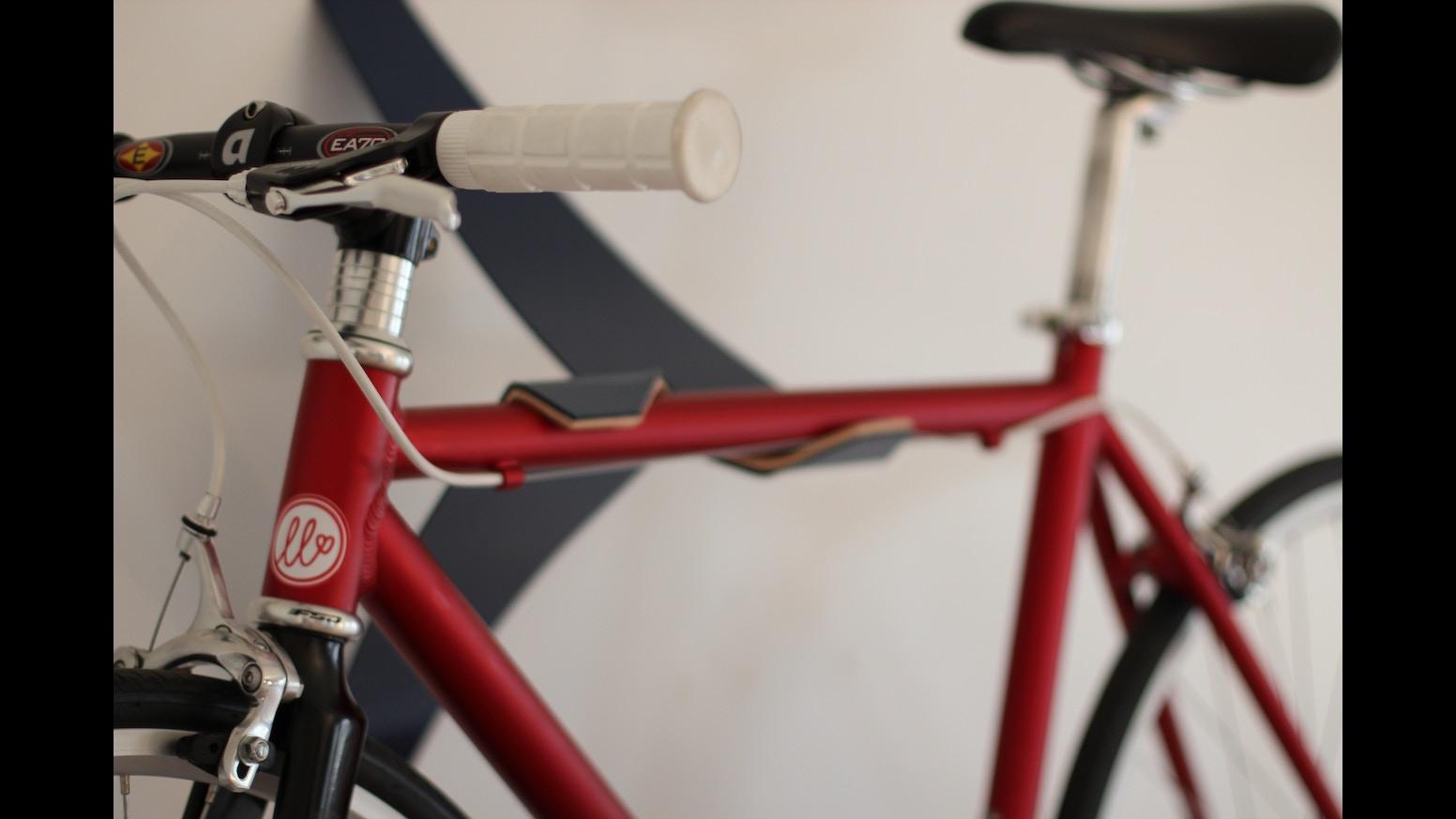 the bike valet art meet function by steven tiller kickstarter. Black Bedroom Furniture Sets. Home Design Ideas