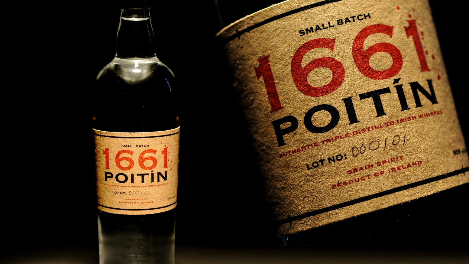 1661 Poitín: Small Batch Traditional Irish Spirit