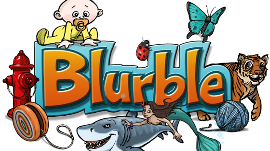 Blurble - The Hilarious Word Association Card Game project video thumbnail