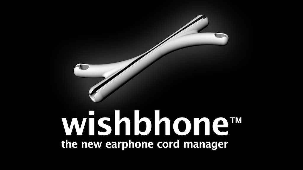 Wishbhone - the new clever earphone cord manager project video thumbnail