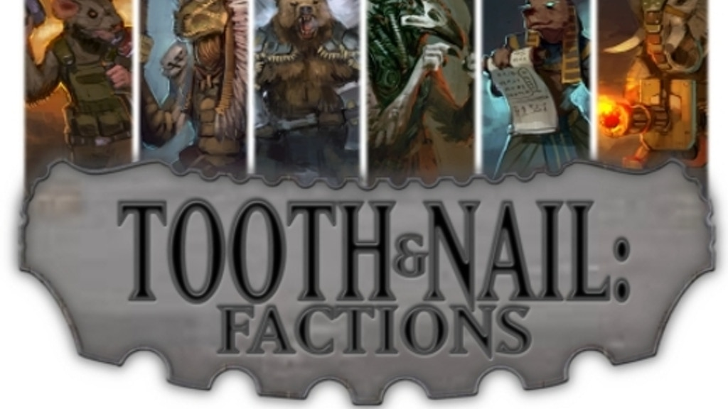 Tooth & Nail: Factions. A new card game from Small Box Games project video thumbnail