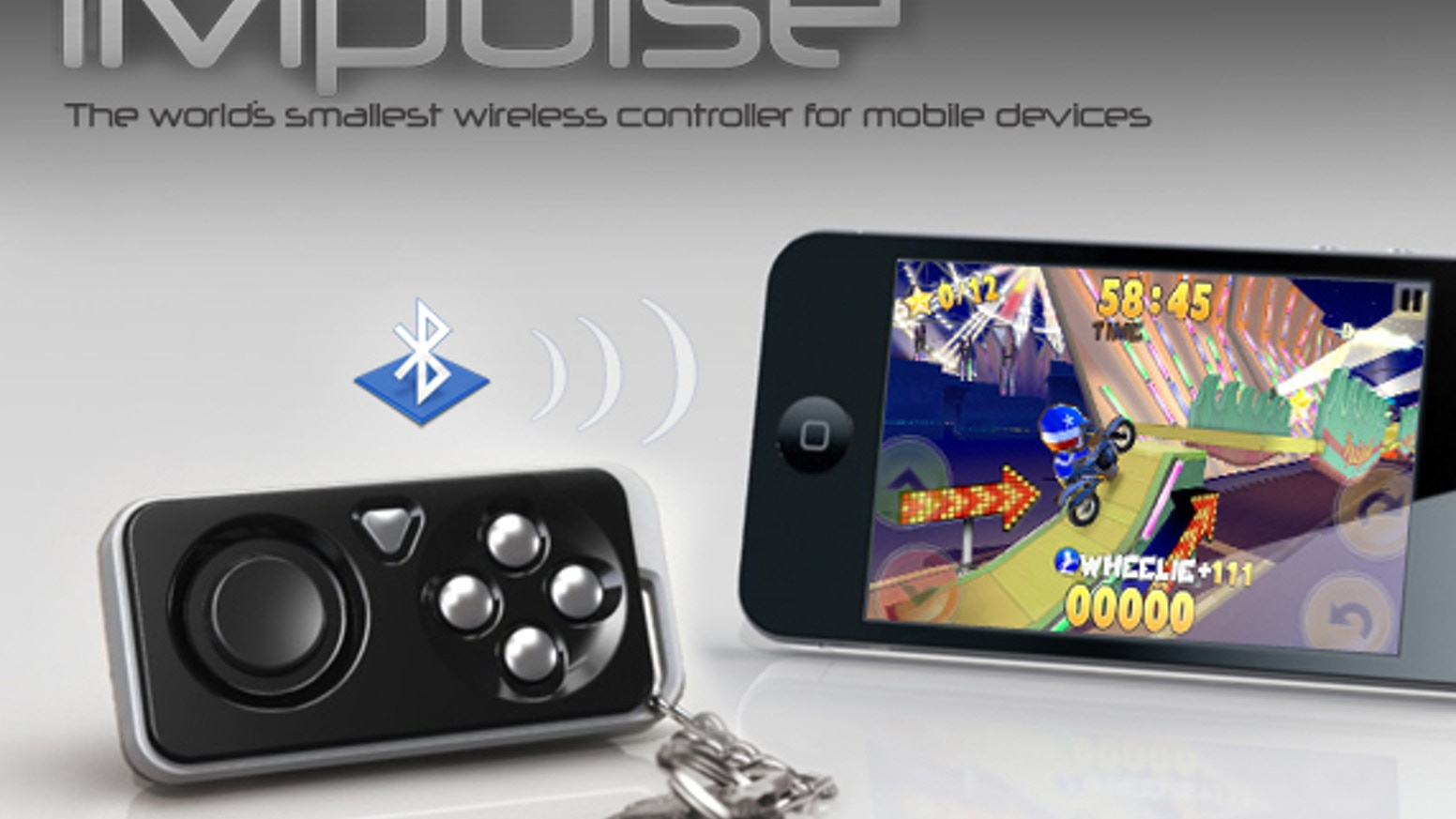 iMpulse Game Controller & Key Finder: Pocket Accessory by Black