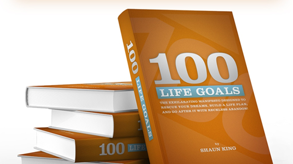 The 100 Life Goals Book Project project video thumbnail