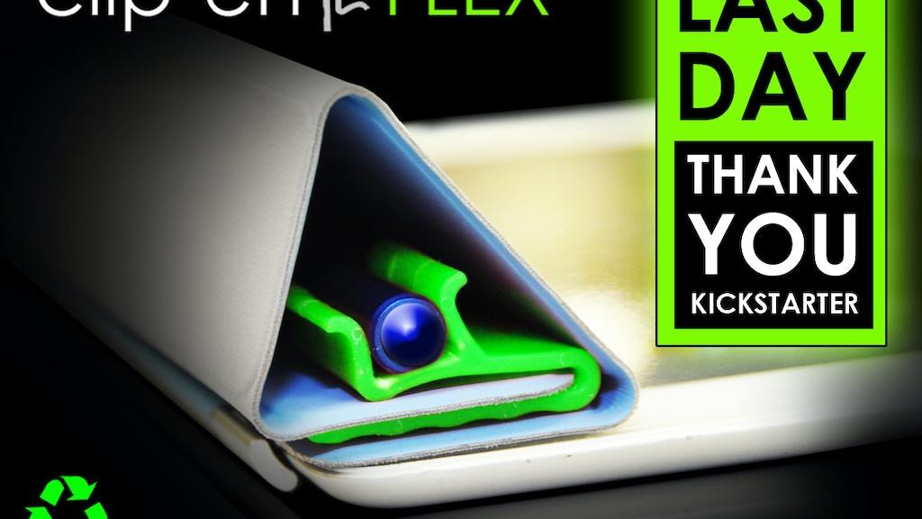 Clip'en FLEX - Pen & Stylus Clip MADE IN USA project video thumbnail