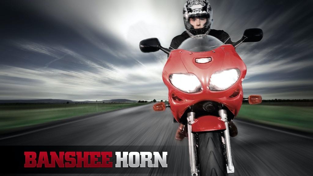BansheeHorn - warning system for Motorcycles, Cars & Boats project video thumbnail