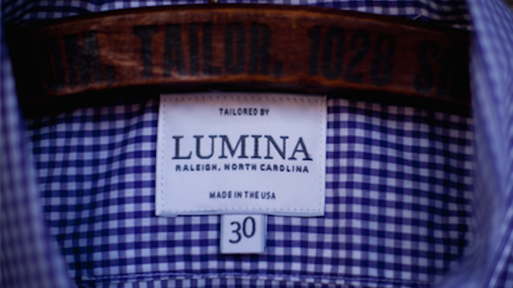 Lumina Men's and Women's 2012 Clothing Line project video thumbnail
