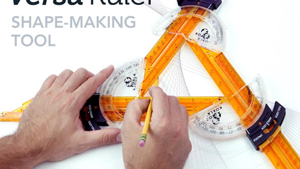 Rule Like Never Before!  NEW Shape-making Versa Ruler project video thumbnail