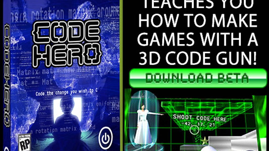 Code Hero: A Game That Teaches You To Make Games project video thumbnail