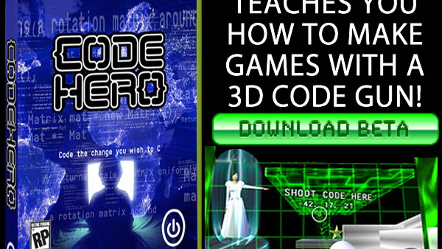 Code Hero: A Game That Teaches You To Make Games by Alex Peake