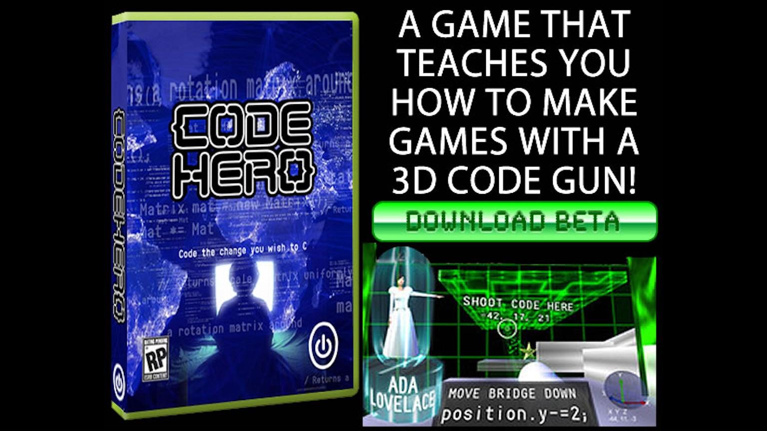 code hero a game that teaches you to make gamesalex