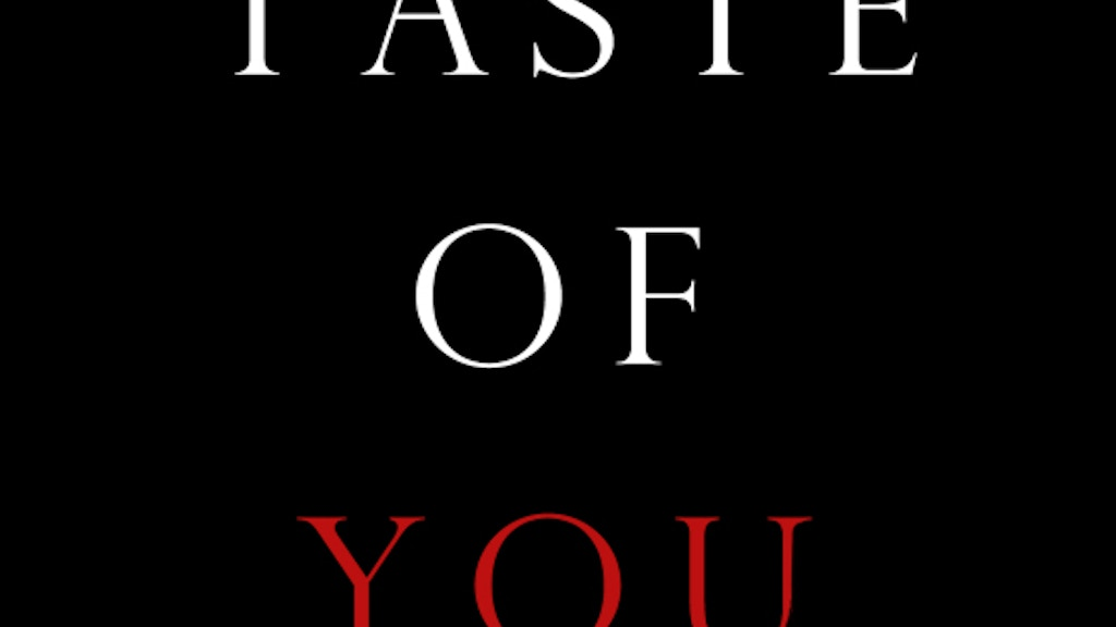 Taste of You project video thumbnail