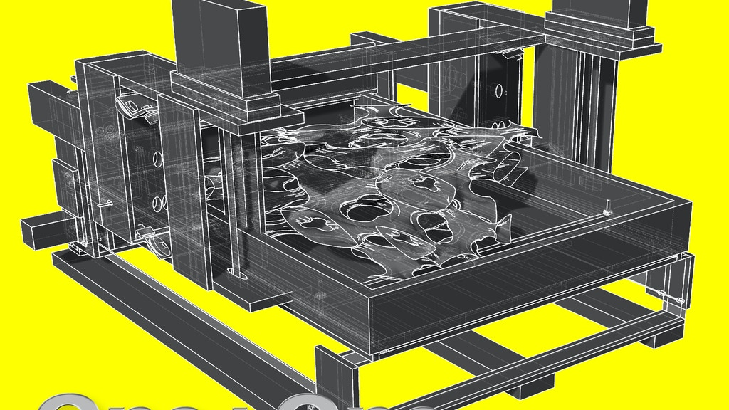 Project image for One-to-One : Large Scale 3D Printer