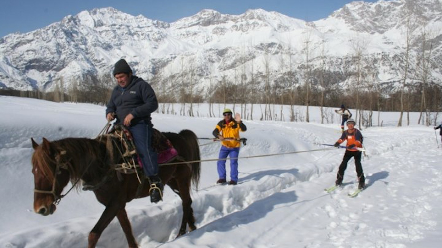 A Kyrgyz man's vision to better his country's economy through ski tourism and his efforts to protect the world's largest walnut forest.