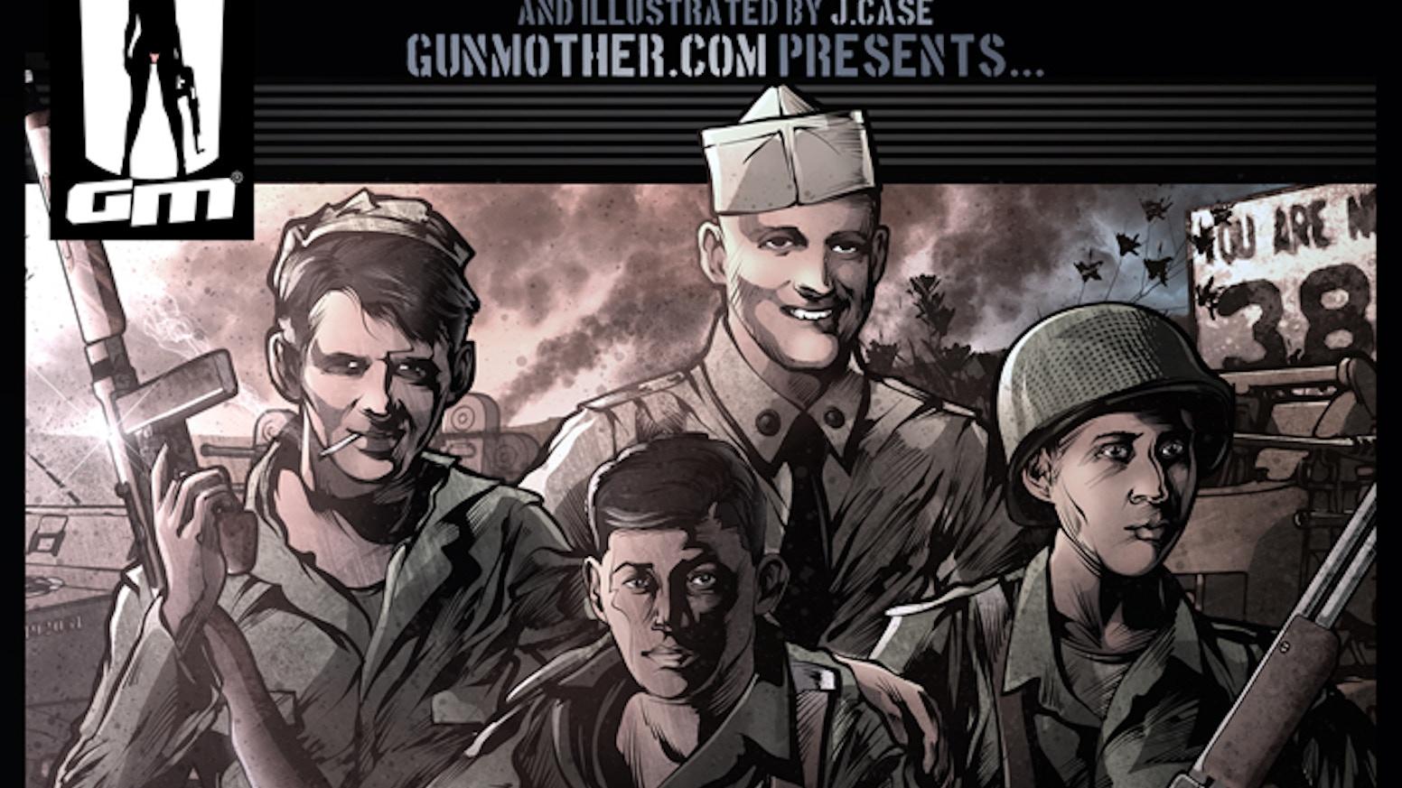 finnigan s war graphic novel by justin case kickstarter
