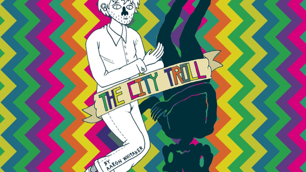THE CITY TROLL: a graphic novel project video thumbnail