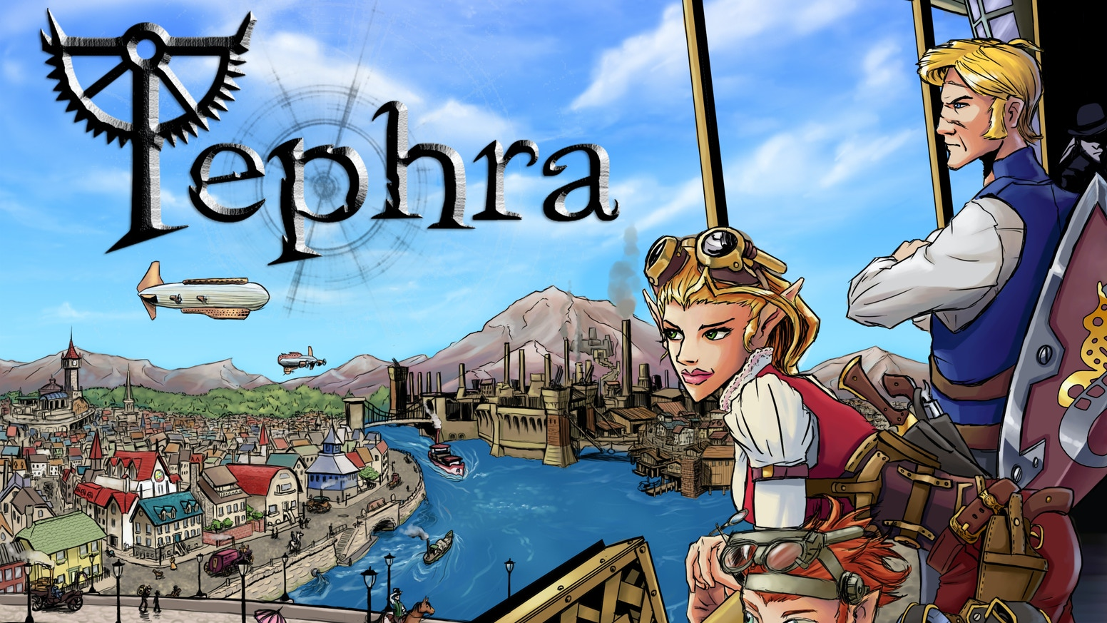 Tephra is a steampunk RPG with a unique setting and a dynamic system. Help us get Tephra in your hands and at your game table.