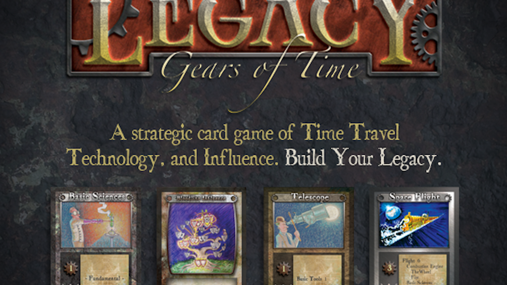 Legacy: Gears of Time project video thumbnail