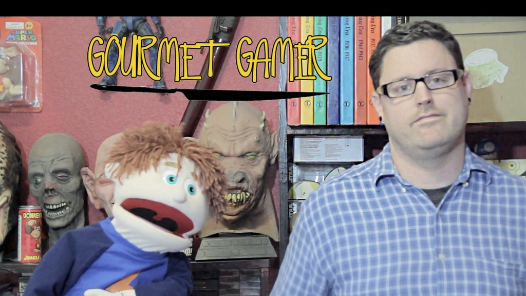 Gourmet Gamer Web Show. Video Games, Food, and Puppets! project video thumbnail