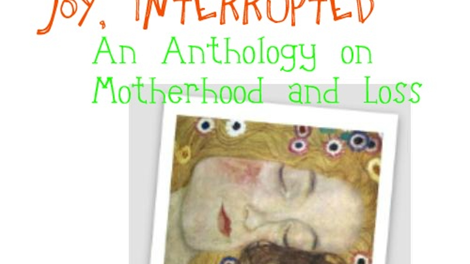 ISBN for Anthology on Motherhood and Loss by Melissa Miles