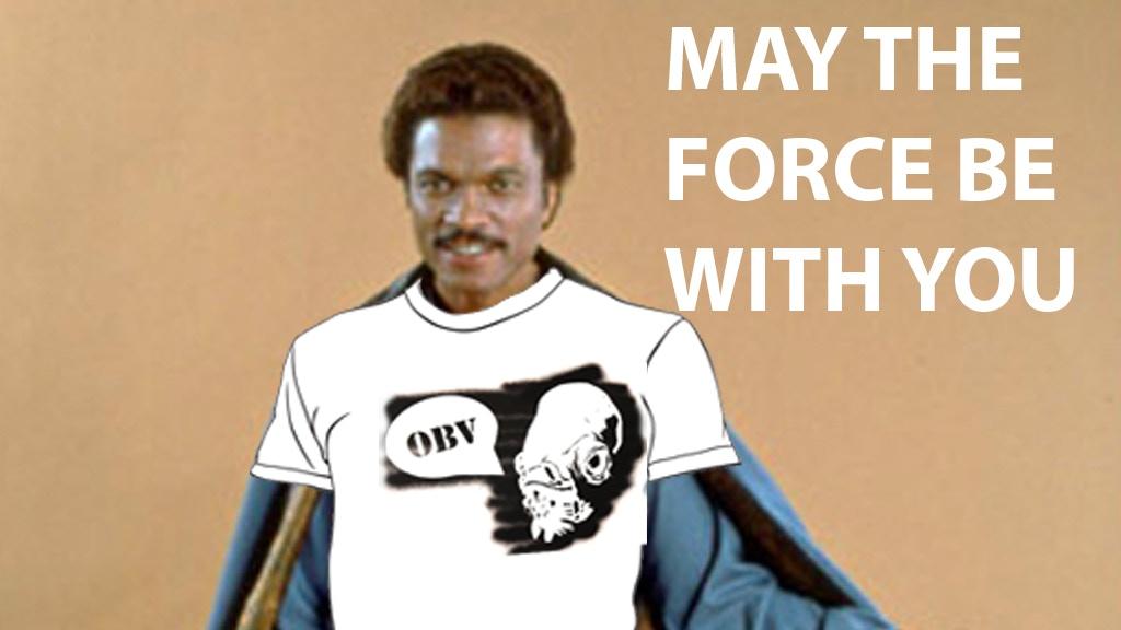 Obv t-shirt: Putting my original Star Wars art on a shirt project video thumbnail