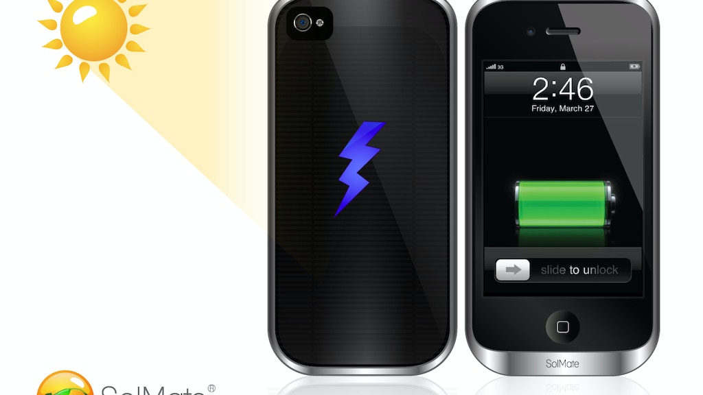 SolMate: iPhone's Hottest Solar, Inductive and Battery Case. project video thumbnail