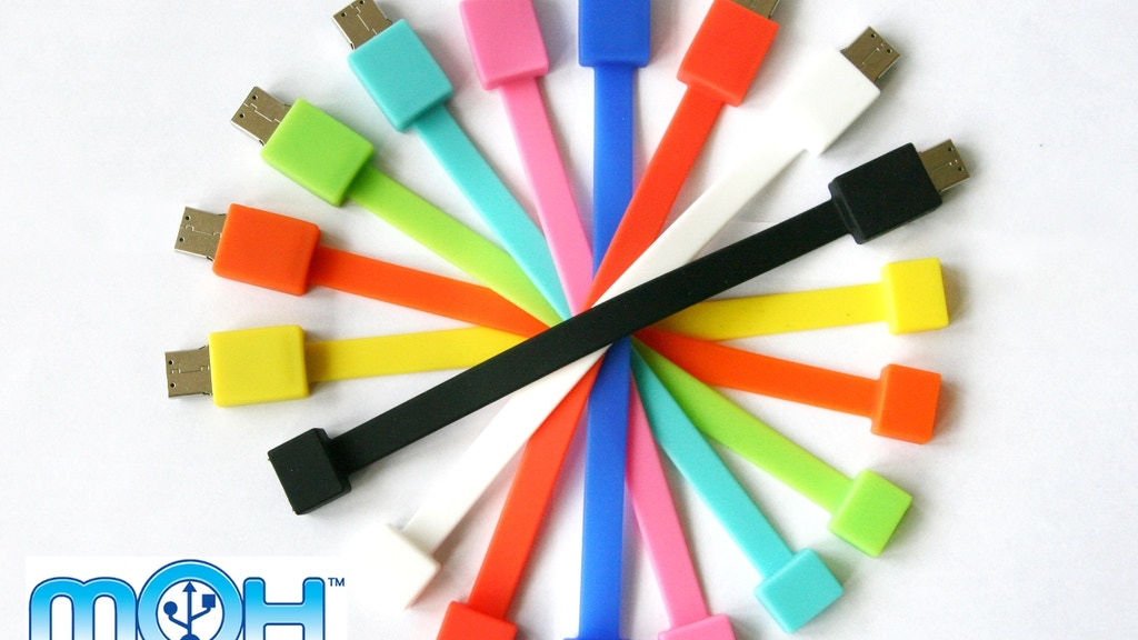The MoH Band™ - USB Flash Drive Wristband project video thumbnail