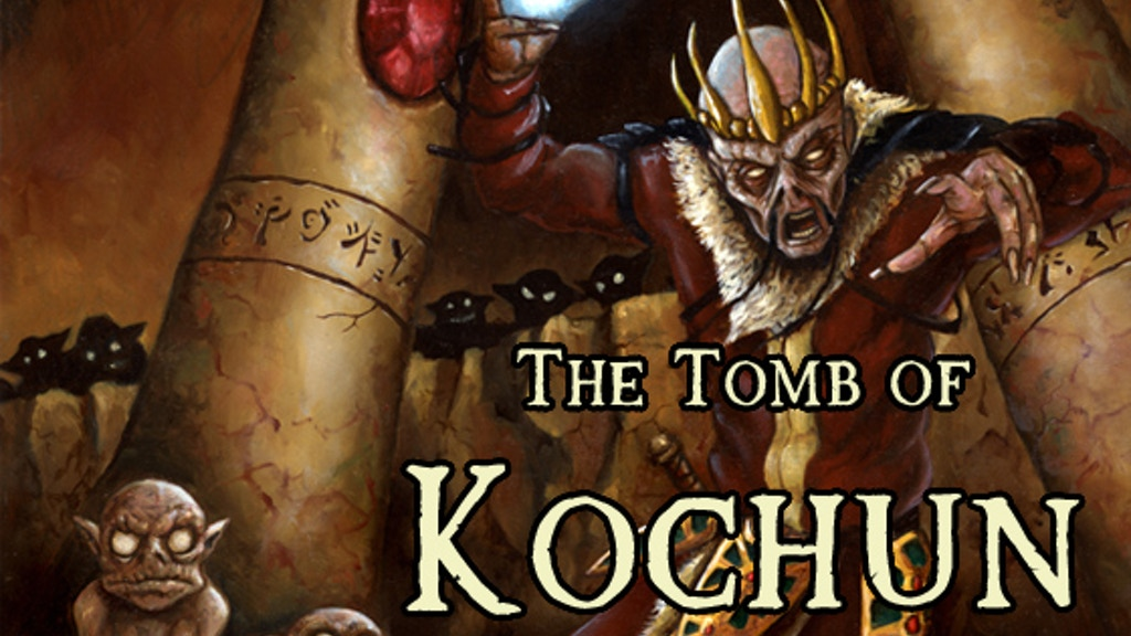 The Tomb of Kochun - A Pathfinder Roleplaying Module project video thumbnail