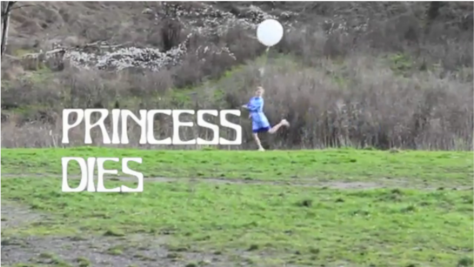 Princess Dies Residency at Wonder Valley Land Art Project by