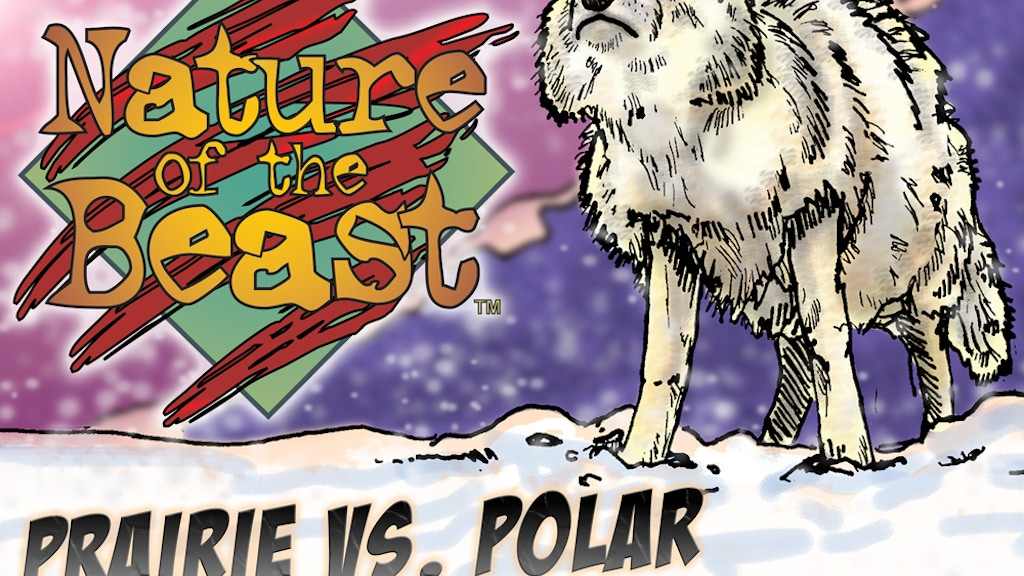 Nature of the Beast Card Game - Prairie vs. Polar Set project video thumbnail