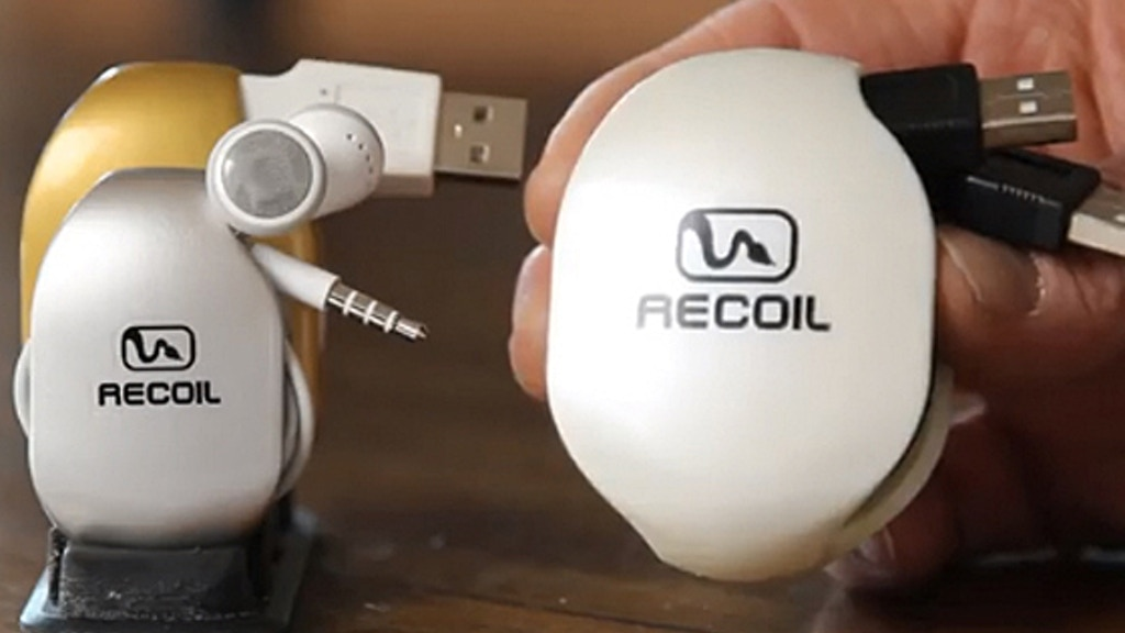 Recoil Winders - Cord storage for iPhone, iPad, iPod & More! project video thumbnail