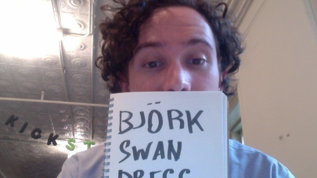 Björk Swan Dress T-Shirt project video thumbnail