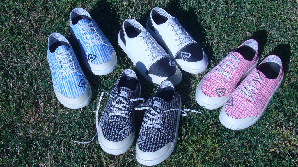 REMYXX cool sneakers 100% recyclable, seen on Shark Tank project video thumbnail