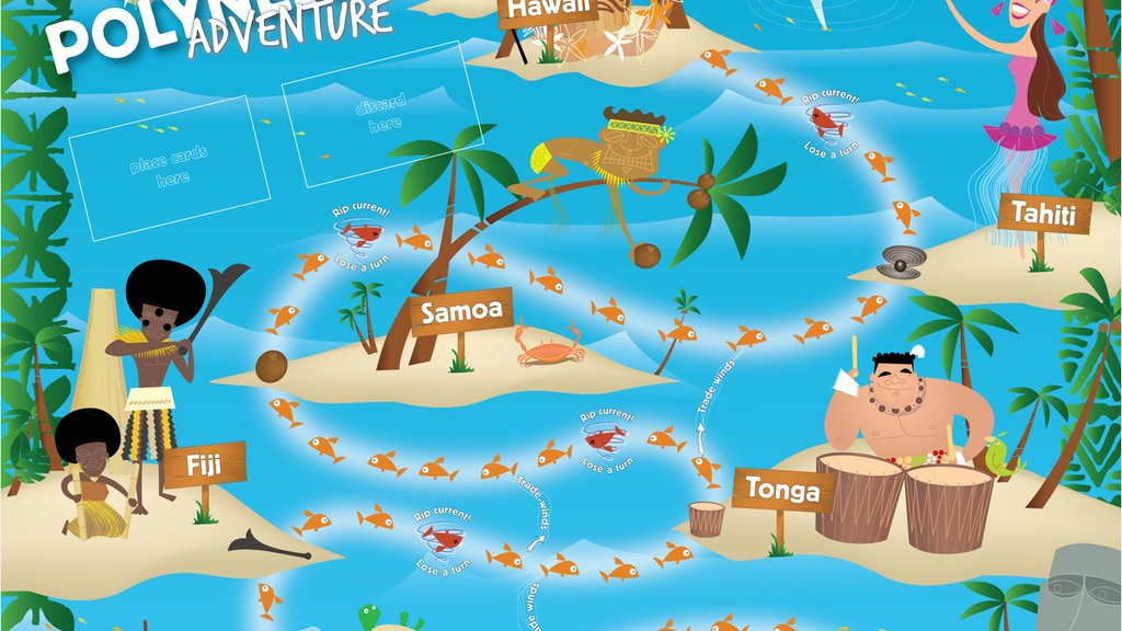 Polynesian Adventure - the board game project video thumbnail