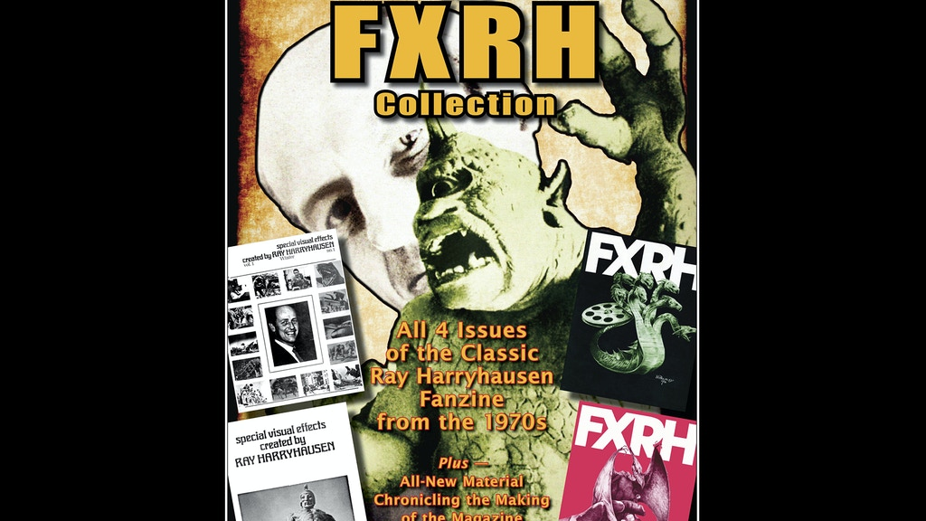 Special Edition of The Original Ray Harryhausen Magazine! project video thumbnail