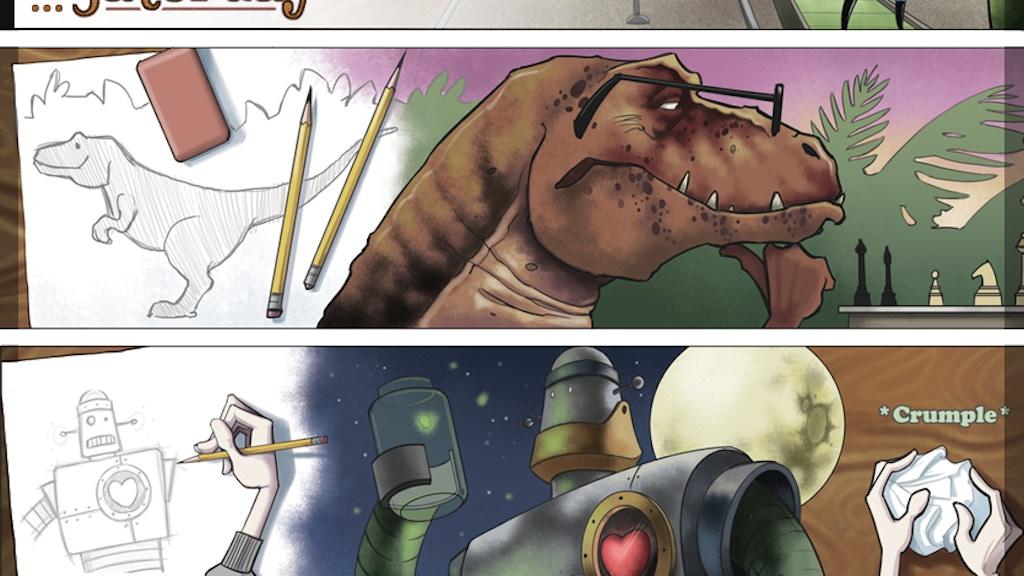 Saturday: Dinosaurs, Robots, and Octopi. project video thumbnail