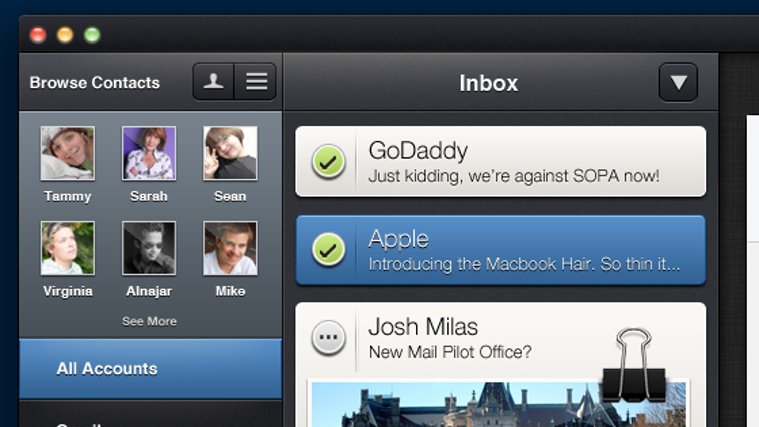Get more done. With Mail Pilot, every user is a power user.