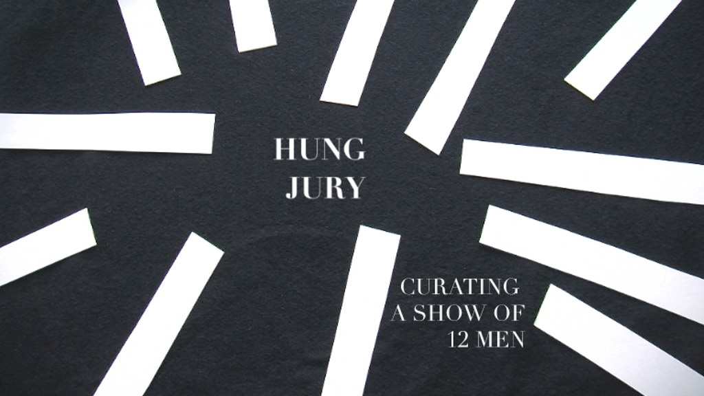 HUNG JURY: Curating a Show of 12 Men project video thumbnail