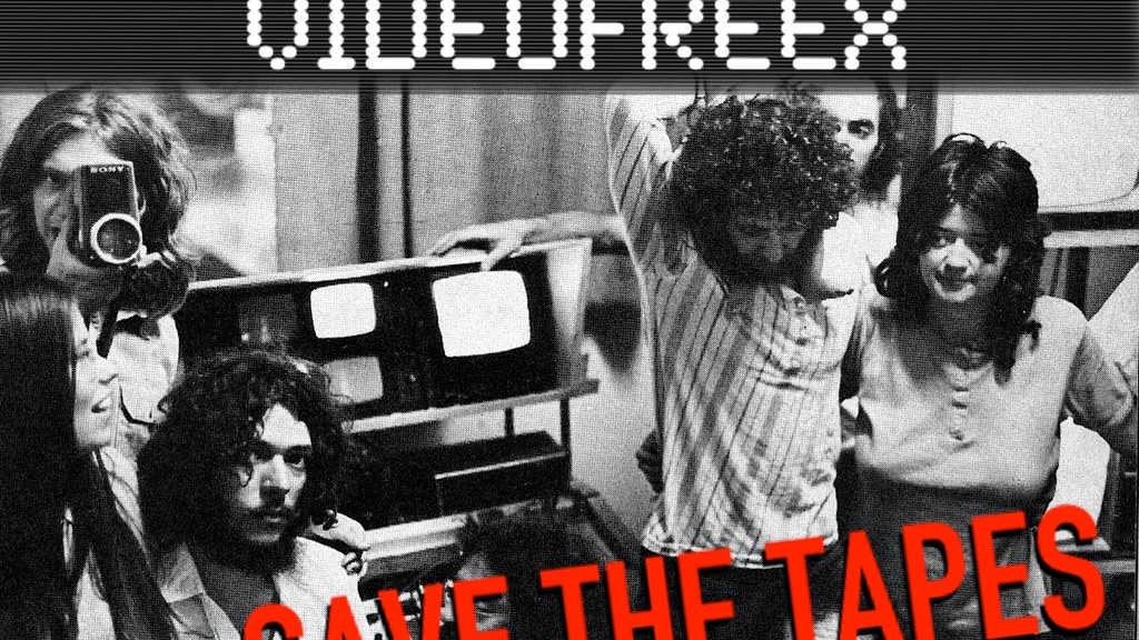 HERE COME THE VIDEOFREEX - Save the Tapes! project video thumbnail