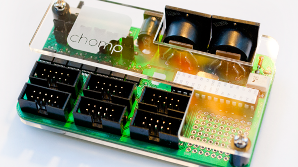 Project image for Chomp - the Affordable, Open-Source MIDI Controller