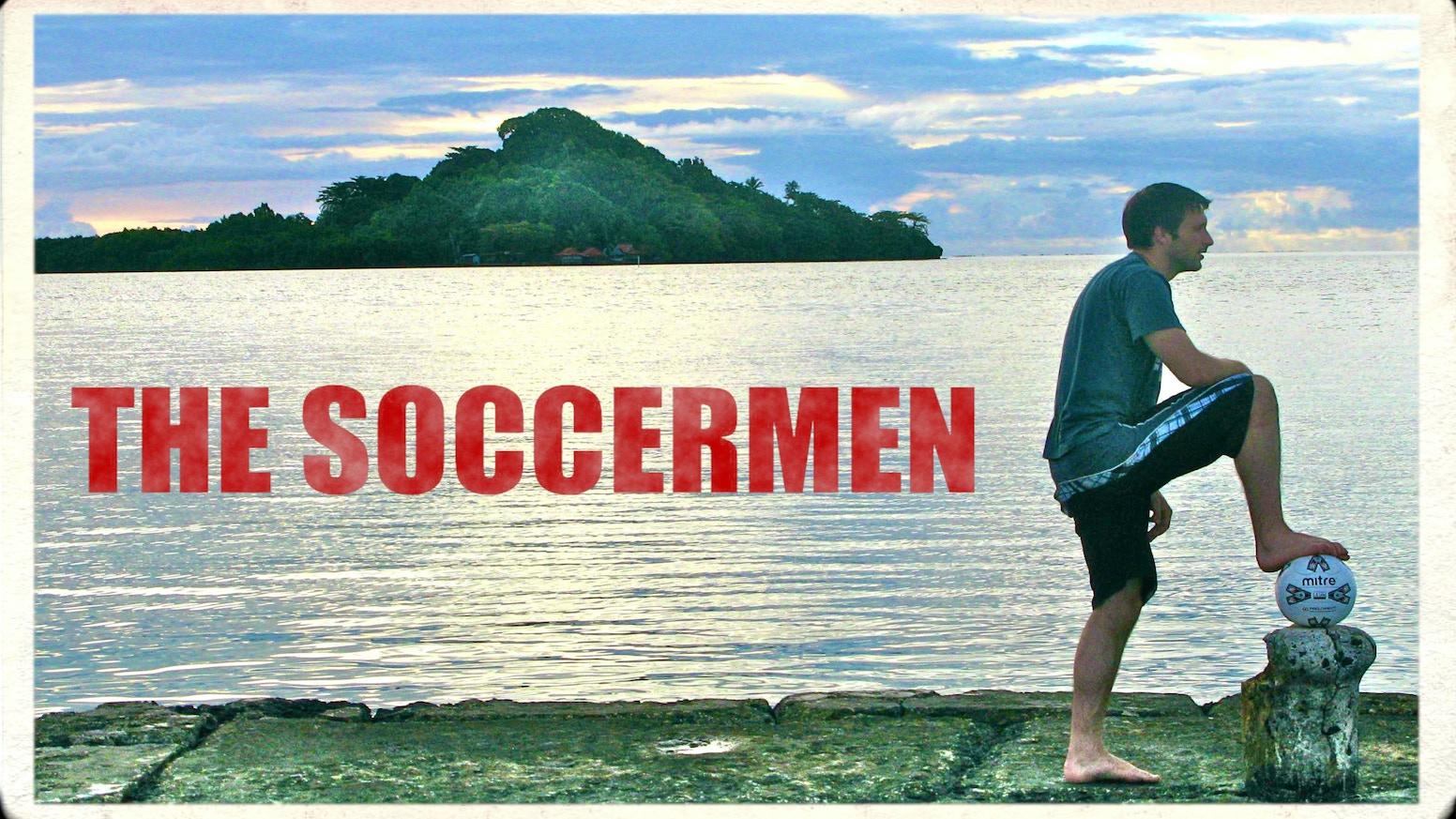 The Soccermen by Matthew Conrad » FRONT PAGE NEWS - REDDIT — Kickstarter