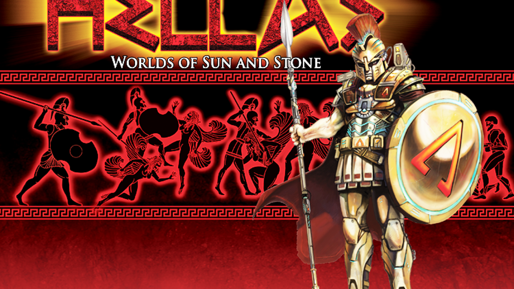 HELLAS: Worlds of Sun and Stone RPG project video thumbnail