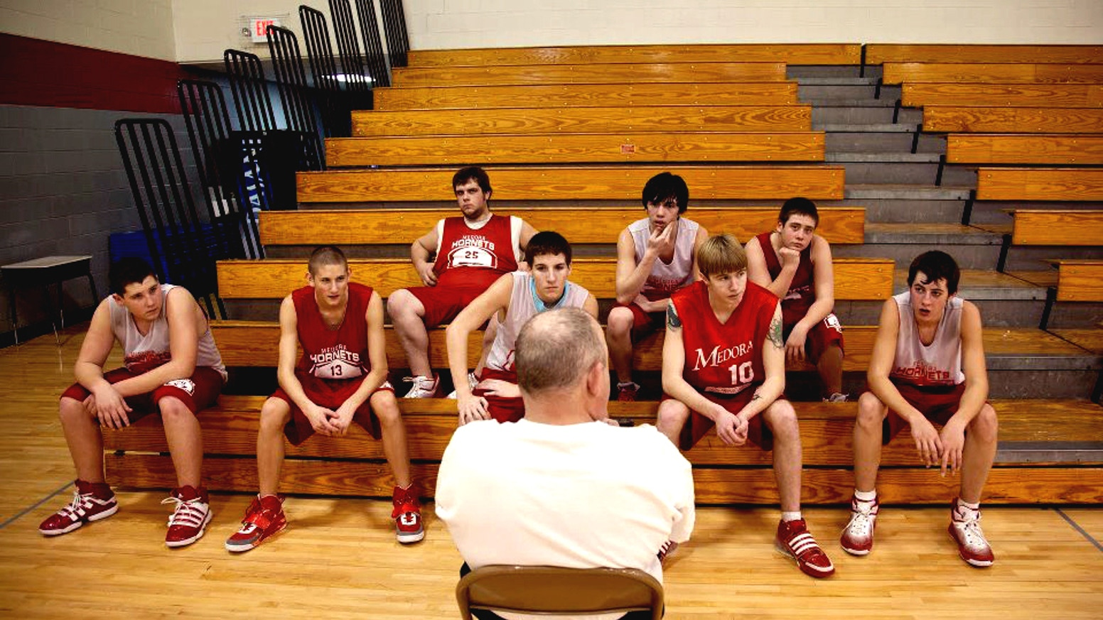 """""""Medora"""" examines the struggles of small-town America, following a resilient high school basketball team in rural Medora, Indiana."""