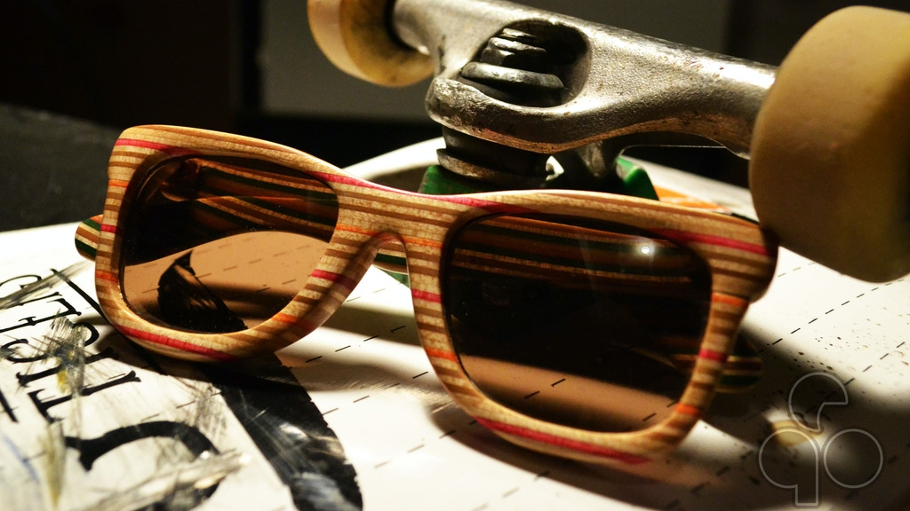 Eqo Optics - Handmade Eyewear from Recycled Skateboards project video thumbnail
