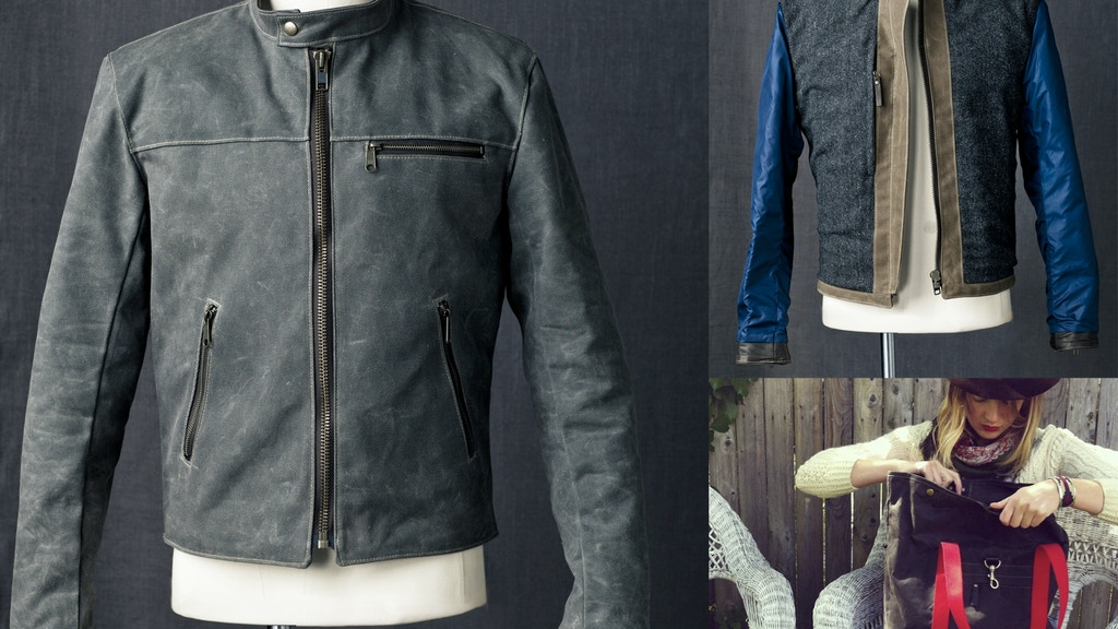 Queen City Dry Goods Waxed Canvas Racer Jacket Launch project video thumbnail