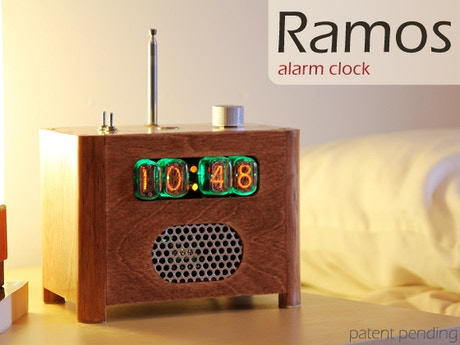 ramos alarm clock by paul sammut we are funded kickstarter. Black Bedroom Furniture Sets. Home Design Ideas