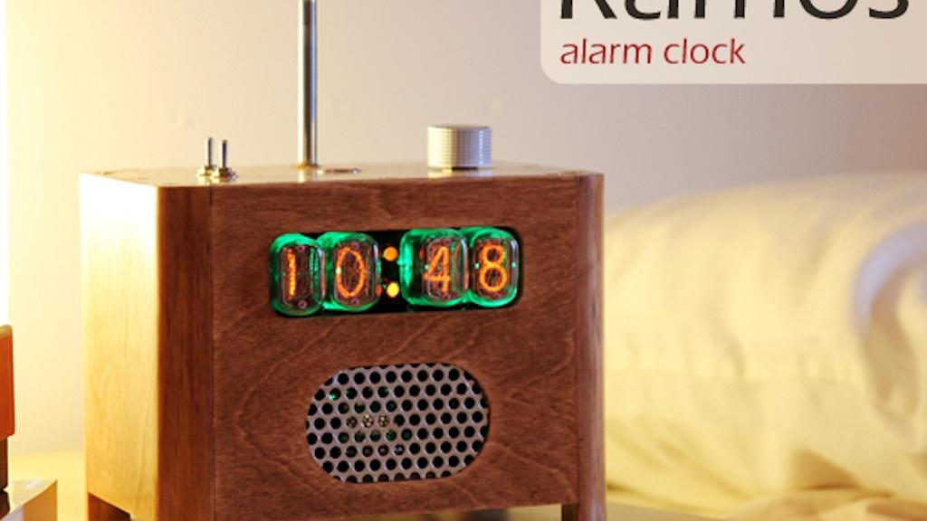 Ramos alarm clock project video thumbnail