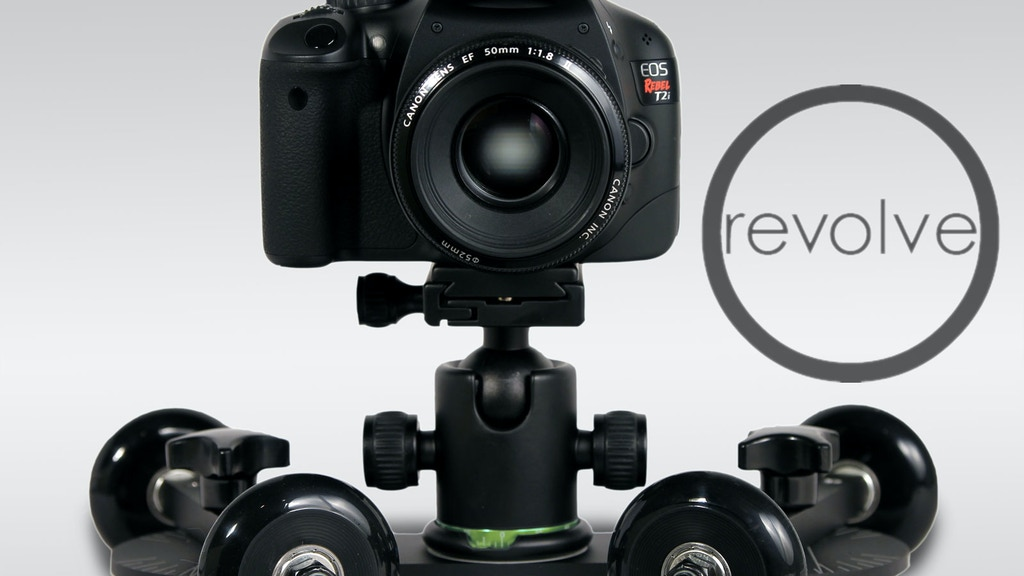 REVOLVE: the versatile, portable and affordable camera dolly project video thumbnail
