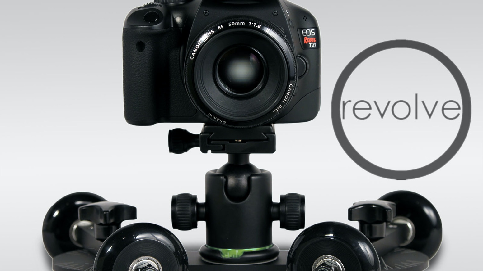 The REVOLVE is a tool for creating fluid and dynamic video footage; compatible with all cameras and affordable to all film-makers.