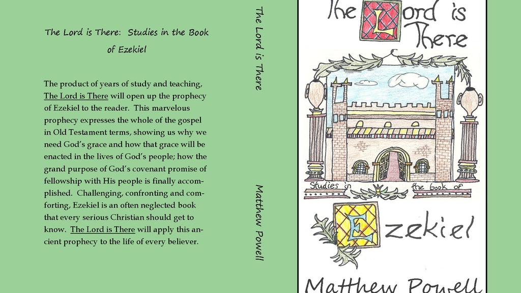 The Lord is There:  Ezekiel Study Book project video thumbnail