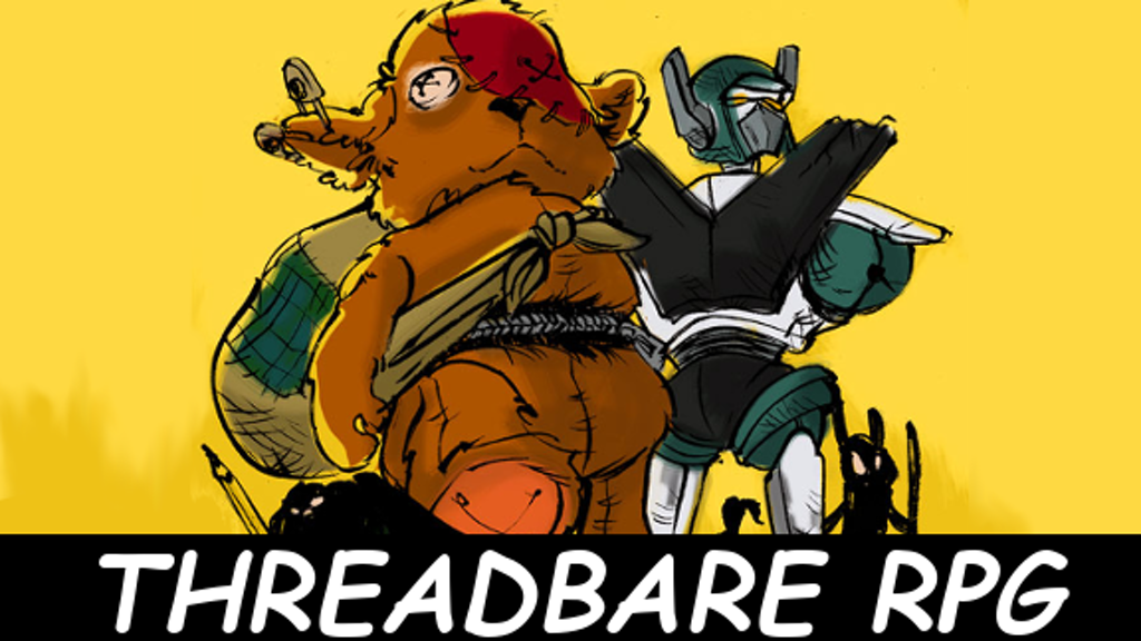 Threadbare RPG: A stitchpunk tabletop role-playing game project video thumbnail